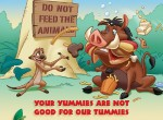 Tip 14 - Your yummies are not good for our tummies