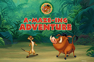 Wild About Safety: A-Maze-ing Adventure